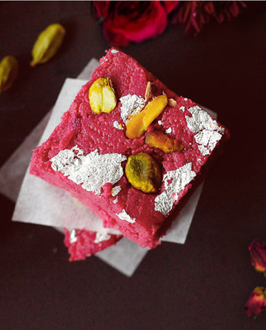 Kalakand | Milk Fudge (Rose)