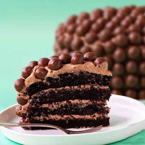 Dragees Chocolate Cake
