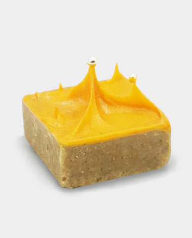 Mango Orange Chana Barfi Fudge