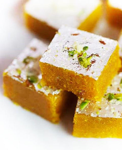 Buy Gift Sweets Online India | Moong Daal Barfi | Pulses Fudge