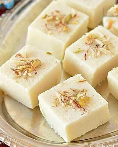 Plain Khoya Barfi | Milk Fudge