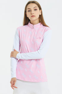 Women Ice Silk Long Sleeves UV Top - Limited Edition