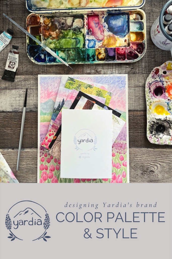 Yardia's brand, color and style