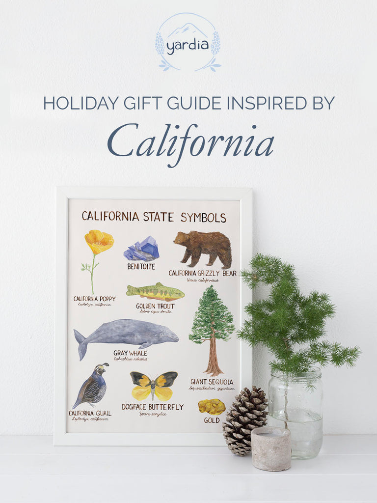 Holiday Gift Guide inspired by California