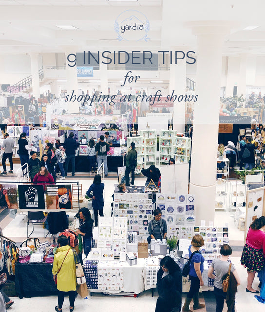9 Insider Tips for Shopping at Craft Shows