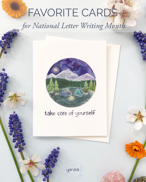 Favorite Cards for National Letter Writing Month