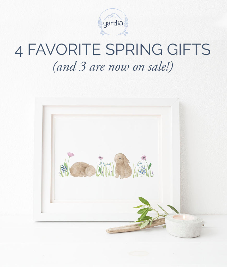 Favorite Springtime Gifts