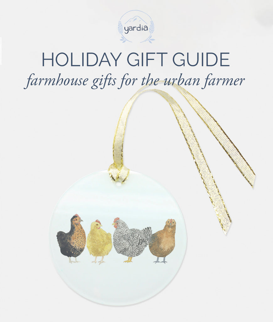 Farmhouse Decor Gifts for the Urban Farmer