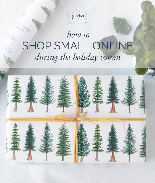 How to shop small online for the holidays