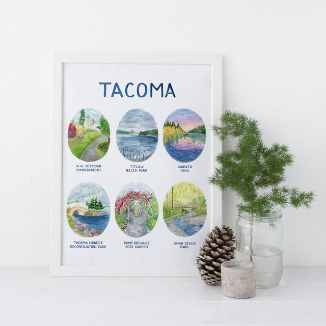 Introducing the Tacoma Parks Art Print