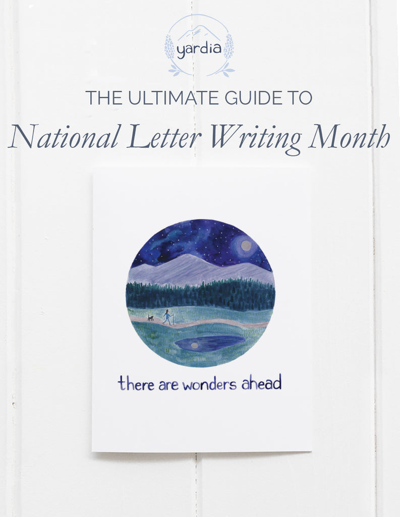 The Ultimate Guide to National Letter Writing Month
