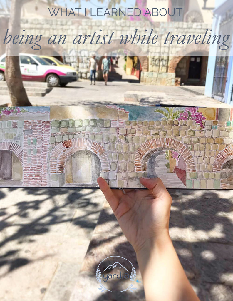 What I learned about being an artist while traveling