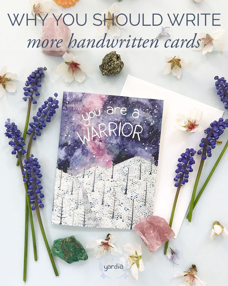 Why you should write more handwritten cards