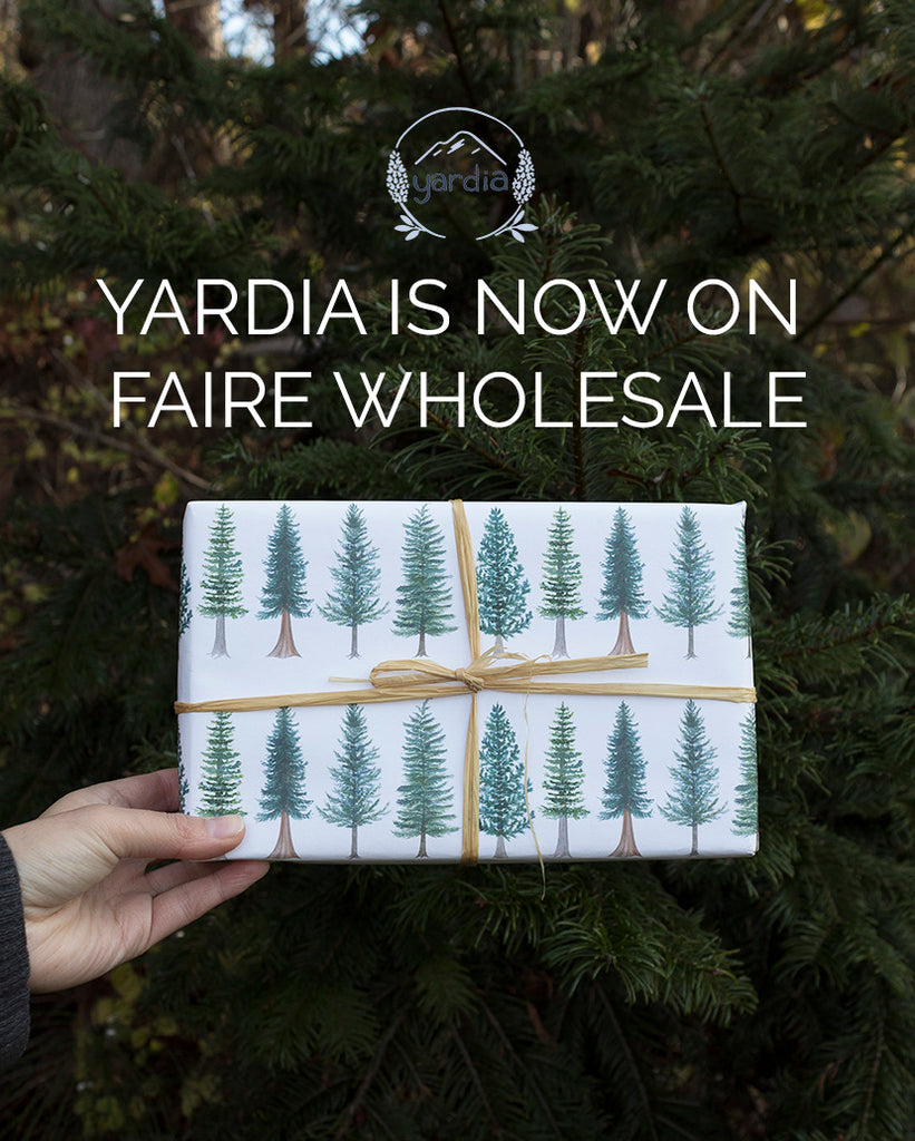 Yardia is now on Faire