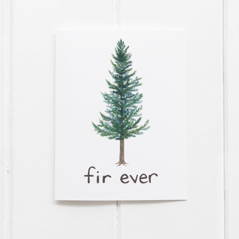 fir ever love card