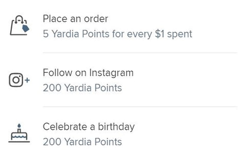 ways to earn points