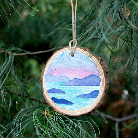 san juan islands ornament