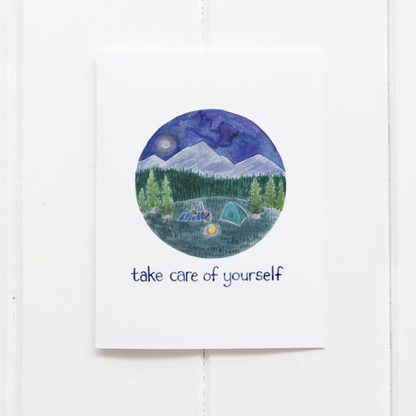 Self care card by Yardia