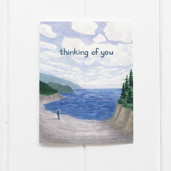 thinking of you card, sympathy card