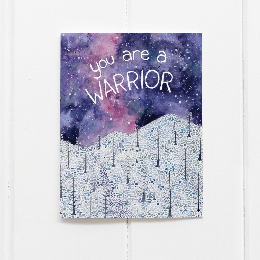 You are a warrior card by Yardia