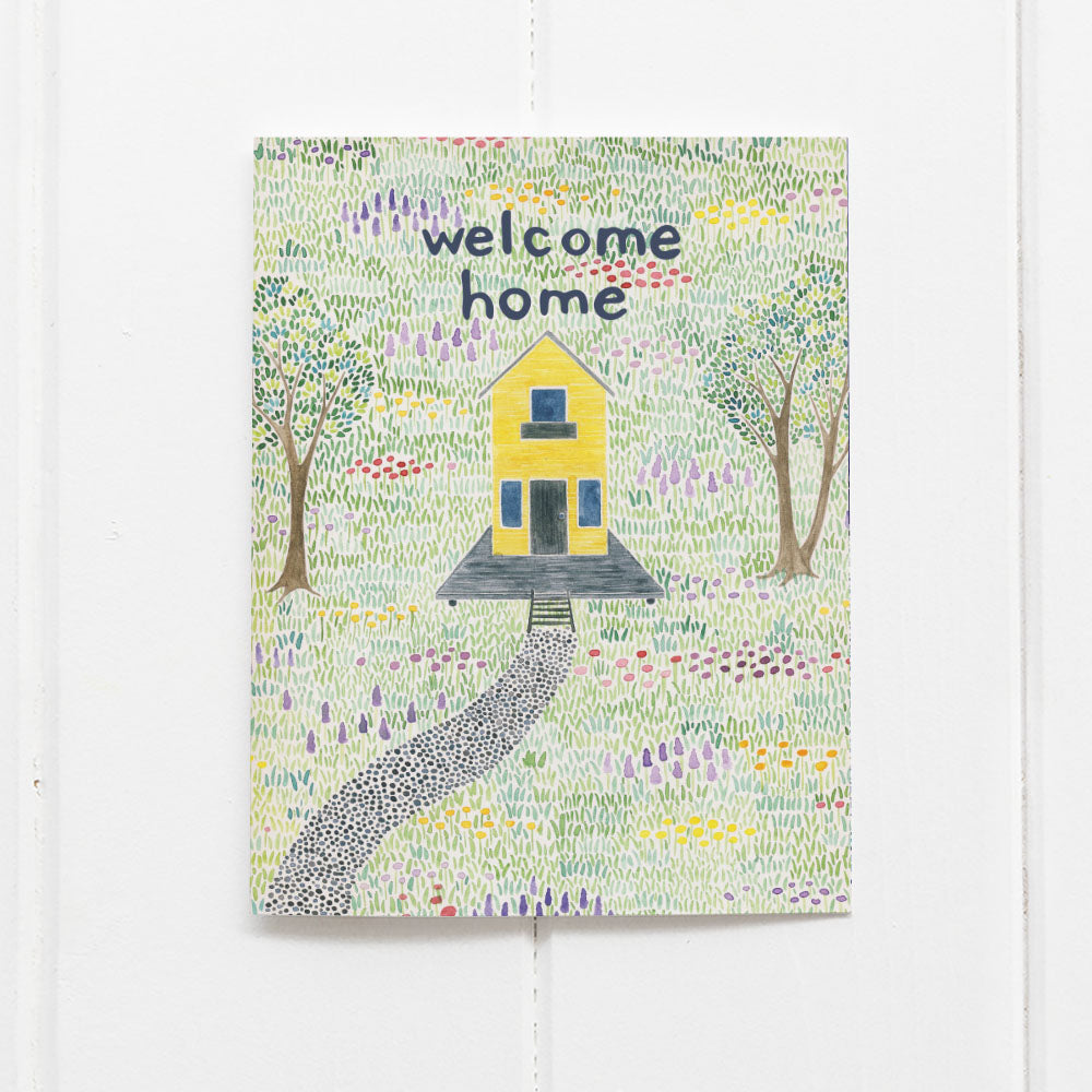 Welcome Home card by Yardia