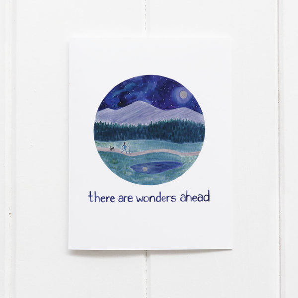 Wonders Ahead Congratulations card by Yardia