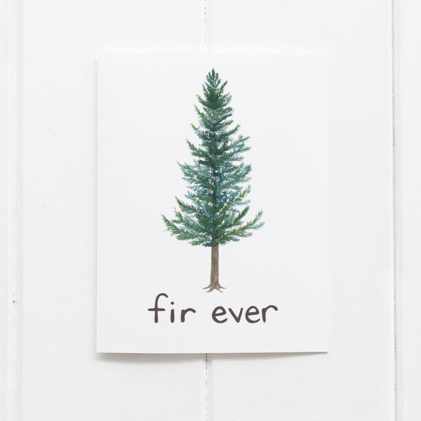 Fir Ever love card by Yardia