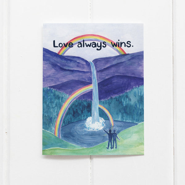 Love Wins Card by Yardia