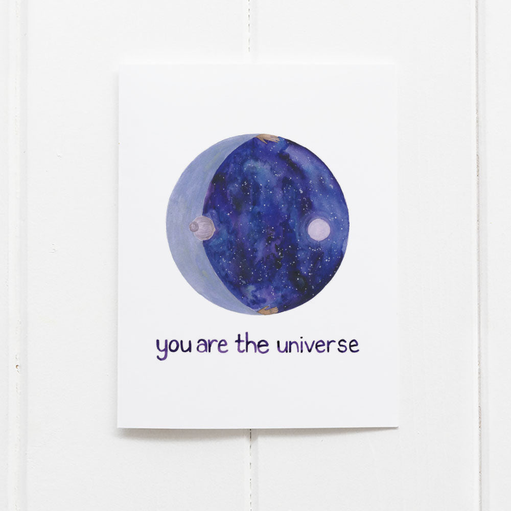 Universe Love Card by Yardia