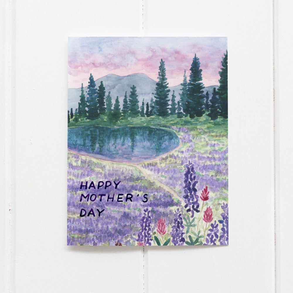 Mother's Day Hiking Card