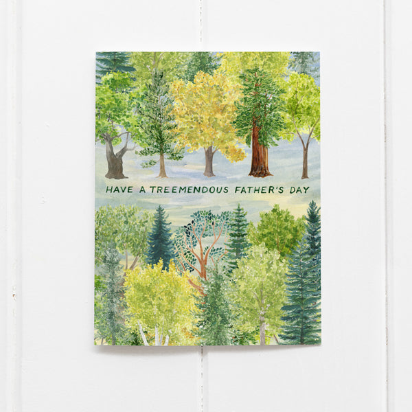 Treemendous Father's Day Card