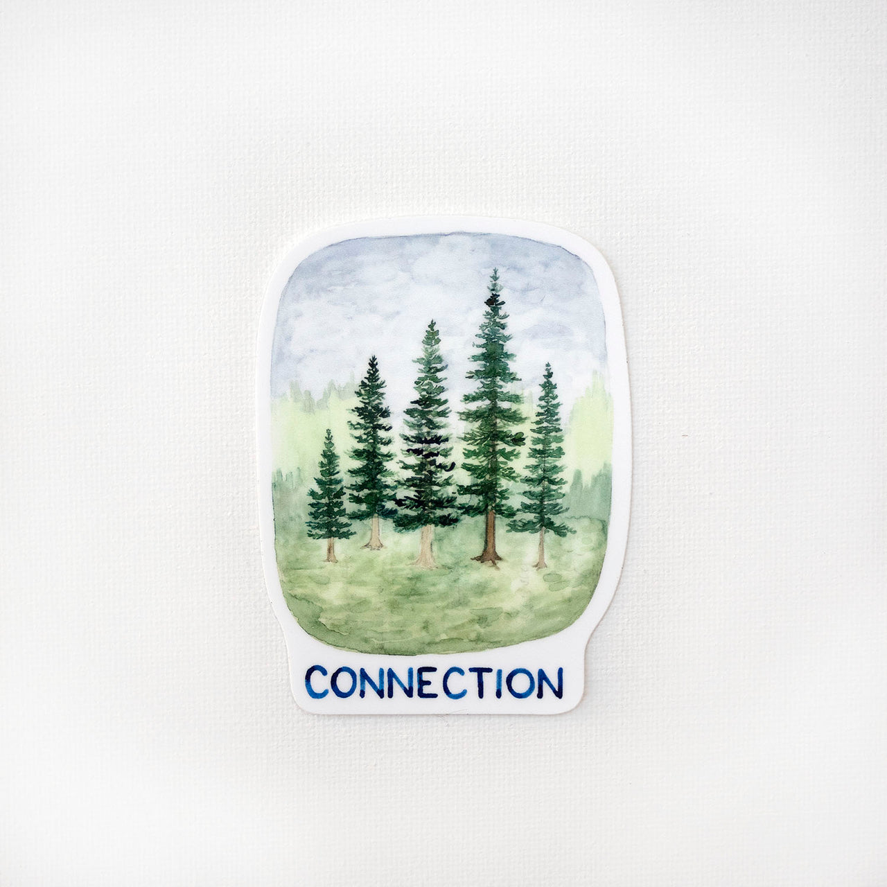 Connection Trees Sticker