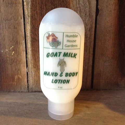 Goat Milk Lotion- Humble House Gardens