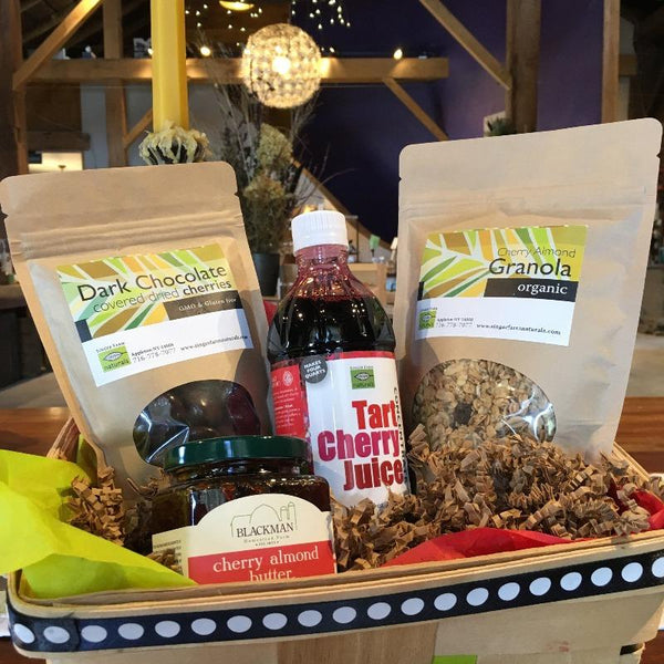 the Cherry Lover gift basket