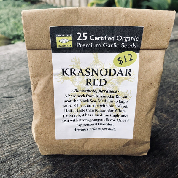 Krasnodar Red Premium Seed Pack - 25 cloves