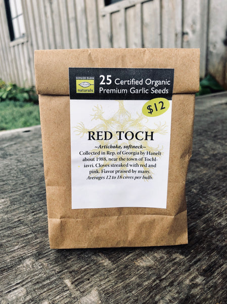 Red Toch Premium Seed Pack - 25 cloves