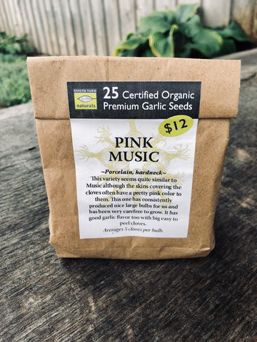 Pink Music Premium Seed Pack - 25 cloves