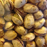 ORGANIC Pistachios in shell- Garlic & Herb