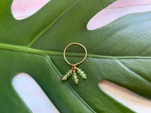 Load image into Gallery viewer, Green Peridot Dainty Size 5.5 Ring