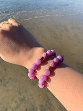 Load image into Gallery viewer, Lepidolite Healing Crystal Beads Bracelet