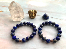 Load image into Gallery viewer, Lapis Lazuli Healing Crystal Beads Bracelet