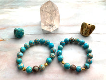 Load image into Gallery viewer, Jasper Healing Crystal Beads Bracelet