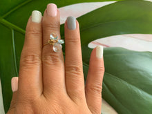 Load image into Gallery viewer, AAA Blue Topaz Dainty Size 2 Ring