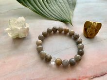 Load image into Gallery viewer, Labradorite & Herkimer Diamond Healing Crystal Bracelet