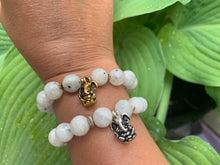 Load image into Gallery viewer, Remover of Obstacles Ganesh Moonstone Gemstone Bracelet