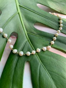 Freshwater Pearl Gold Plated Necklace
