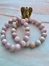 Load image into Gallery viewer, Natural Kunzite Healing Crystal Bracelet
