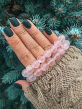 Load image into Gallery viewer, Rose Quartz Healing Crystals Bracelet