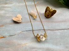 Load image into Gallery viewer, Citrine Healing Crystal Gemstone Gold Filled Necklace
