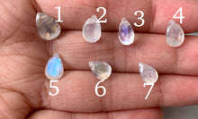 Load image into Gallery viewer, Grade AA Pear Shape Moonstone Healing Crystal Necklace
